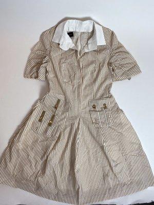Talbot Eunhof Kleid beige weiß gr 38