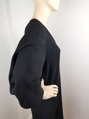 TALBOT RUNHOF bequemes Tageskleid, schwarz, Stretch, Größe 34