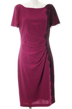 Talbot Runhof Bleistiftkleid pink-schwarz Elegant