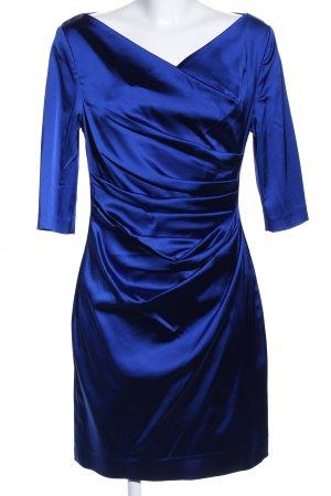 Talbot Runhof Abito aderente blu elegante