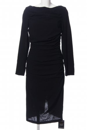 Talbot Runhof Langarmkleid schwarz Business-Look