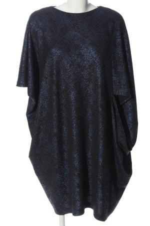 Talbot Runhof Sukienka o kroju koszulki niebieski-czarny Elegancki