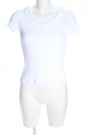 Talbots T-Shirt weiß Casual-Look