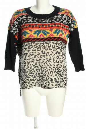 Talent Studios Norwegian Sweater allover print casual look