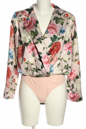 Talia Benson Blusa tipo body estampado floral elegante