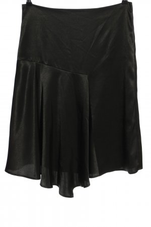talk about Asymmetry Skirt black casual look