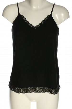 talk about Camisole zwart casual uitstraling