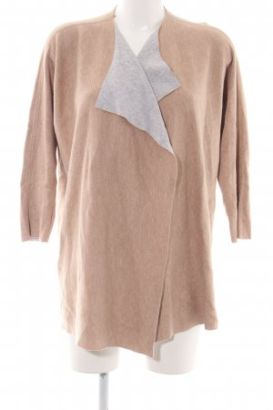 talk about Cardigan nude-hellgrau meliert Casual-Look