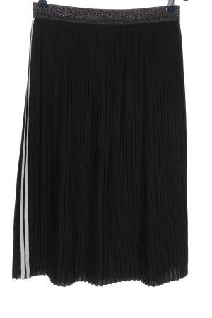 talk about Falda estilo Crash negro-blanco look casual