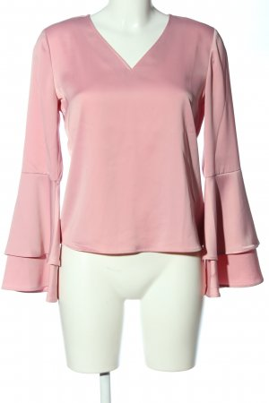 talk about Blouse brillante rose style décontracté