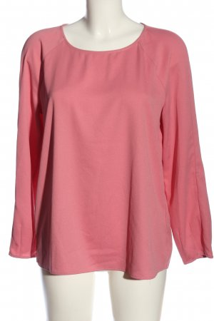 talk about Langarm-Bluse pink Business-Look