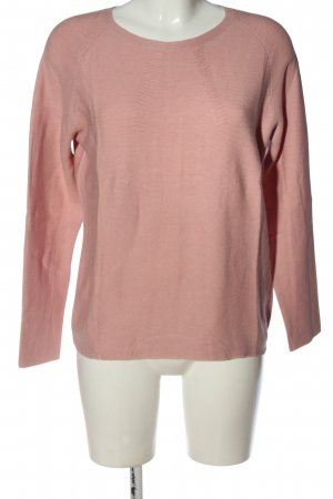 talk about Crewneck Sweater pink casual look