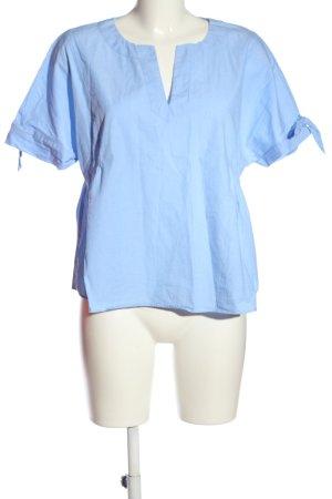 talk about Schlupf-Bluse blau Casual-Look