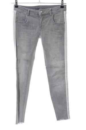 talk about Slim Jeans hellgrau Casual-Look