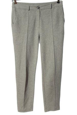talk about Pantalone jersey grigio chiaro puntinato stile casual