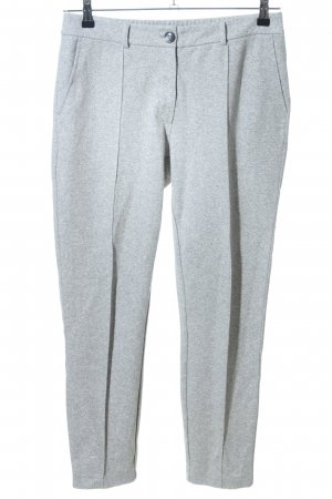 talk about Stoffhose hellgrau meliert Casual-Look