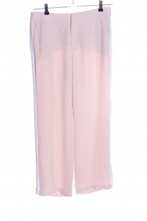 talk about Stoffhose pink-weiß Casual-Look