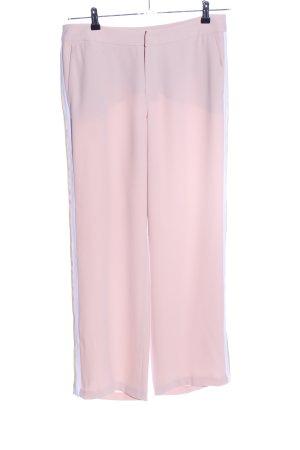 talk about Pantalone jersey rosa-bianco stile casual