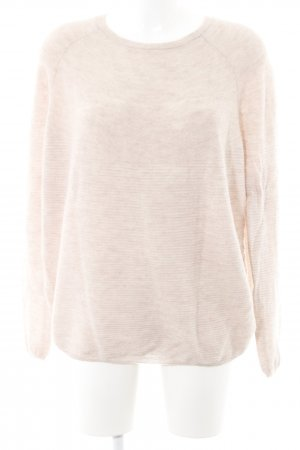 talk about Wollpullover altrosa meliert Casual-Look