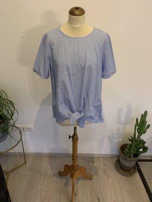 Talkabout Bluse hellblau mit Knoten