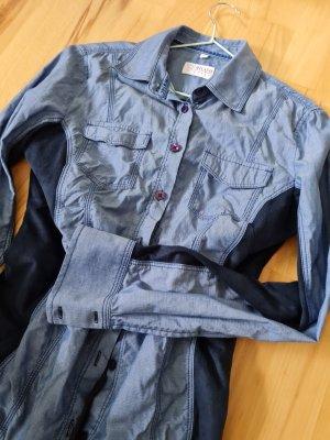 Milano Shirt Blouse slate-gray-blue