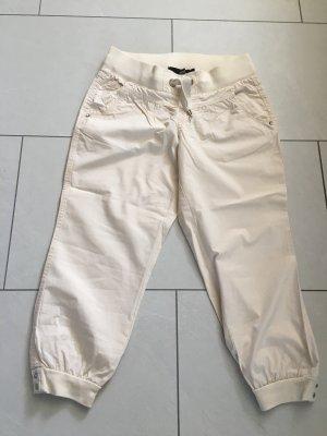 Tally Weijl 3/4 Length Trousers cream-oatmeal