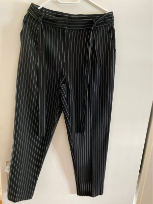 Tally Weijl Low-Rise Trousers black-white