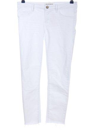 Tally Weijl Jeansy 7/8 biały W stylu casual