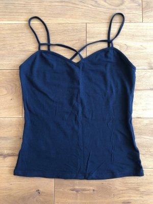 Tally Weijl Basic topje donkerblauw