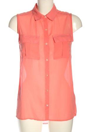 Tally Weijl ärmellose Bluse pink Business-Look