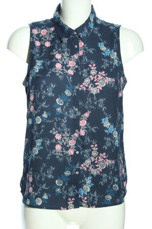 Tally Weijl ärmellose Bluse Blumenmuster Casual-Look