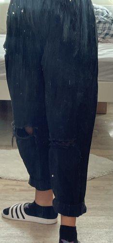 Tally Weijl Jeans baggy noir coton