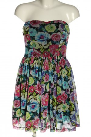 Tally Weijl Bandeau Dress flower pattern casual look