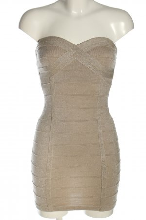 Tally Weijl Bandeau Dress gold-colored extravagant style