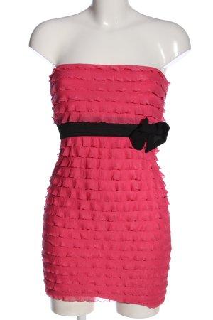 Tally Weijl Falda estilo lápiz rosa-negro elegante