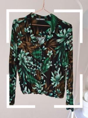 Tally Weijl Bluse mit tropischen Pflanzen