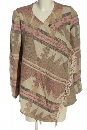 Tally Weijl Blusenjacke grafisches Muster Casual-Look