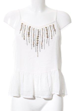 Tally Weijl Blusa bianco sporco stile casual