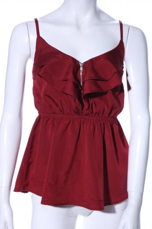 Tally Weijl Blusa rosso stile casual
