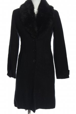 Tally Weijl Floor-Lenght Coat black business style