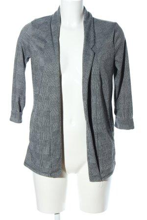 Tally Weijl Blazer stile Boyfriend grigio chiaro-nero motivo a quadri