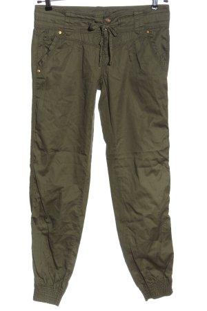 Tally Weijl Pantalon cargo kaki style décontracté