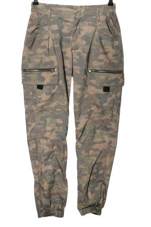 Tally Weijl Cargohose khaki Camouflagemuster Casual-Look