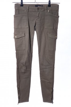 Tally Weijl Pantalone cargo marrone stile casual