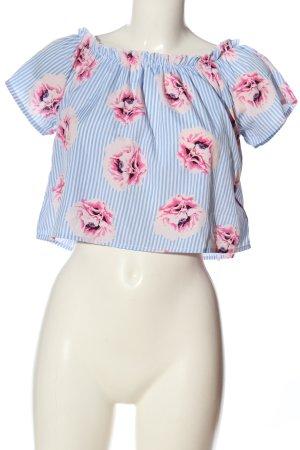 Tally Weijl Carmen-Bluse Blumenmuster Casual-Look