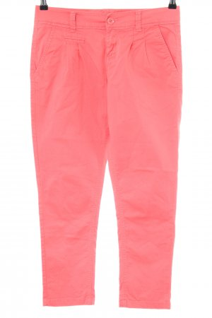 Tally Weijl Chinohose rot Casual-Look