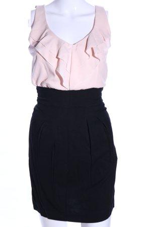 Tally Weijl Cocktailkleid pink-schwarz Elegant