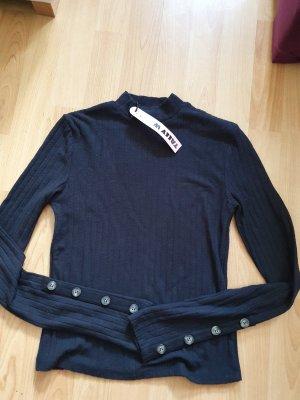 Tally Weijl Crop Top Shirt Neu schwarz Größe S