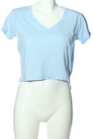 Tally Weijl T-shirt court bleu style décontracté