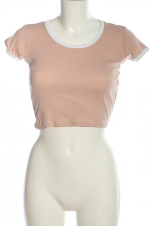 Tally Weijl Cropped Shirt pink Casual-Look